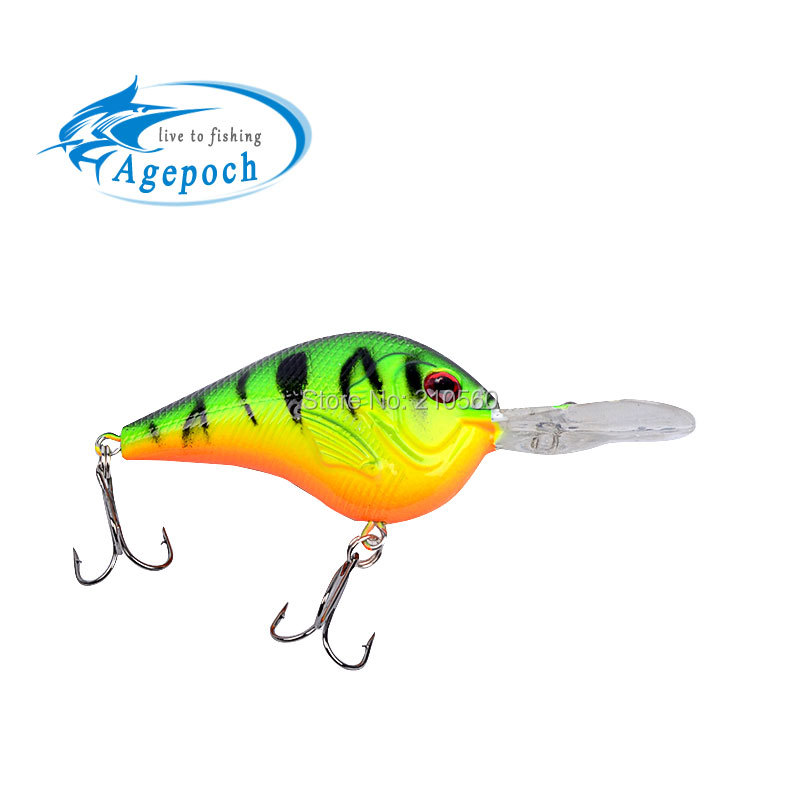 1pc 3D Fishing Bait 1 Color 11.2g/9.5cm Diving Depth 1.2m-2.7m Fishing Tackle High Quality Fishing Lure(China (Mainland))