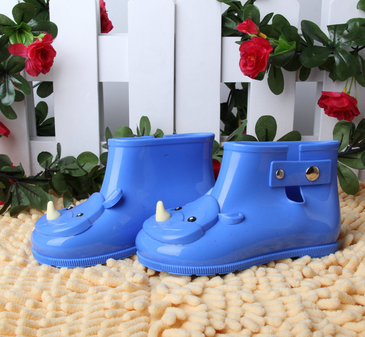Mini Melissa Rain Boots for Kids Rhinoceros Anti-slip Boot Toddler Girls &amp; Boys Water Boots Rain Boots Boots Infantil<br><br>Aliexpress