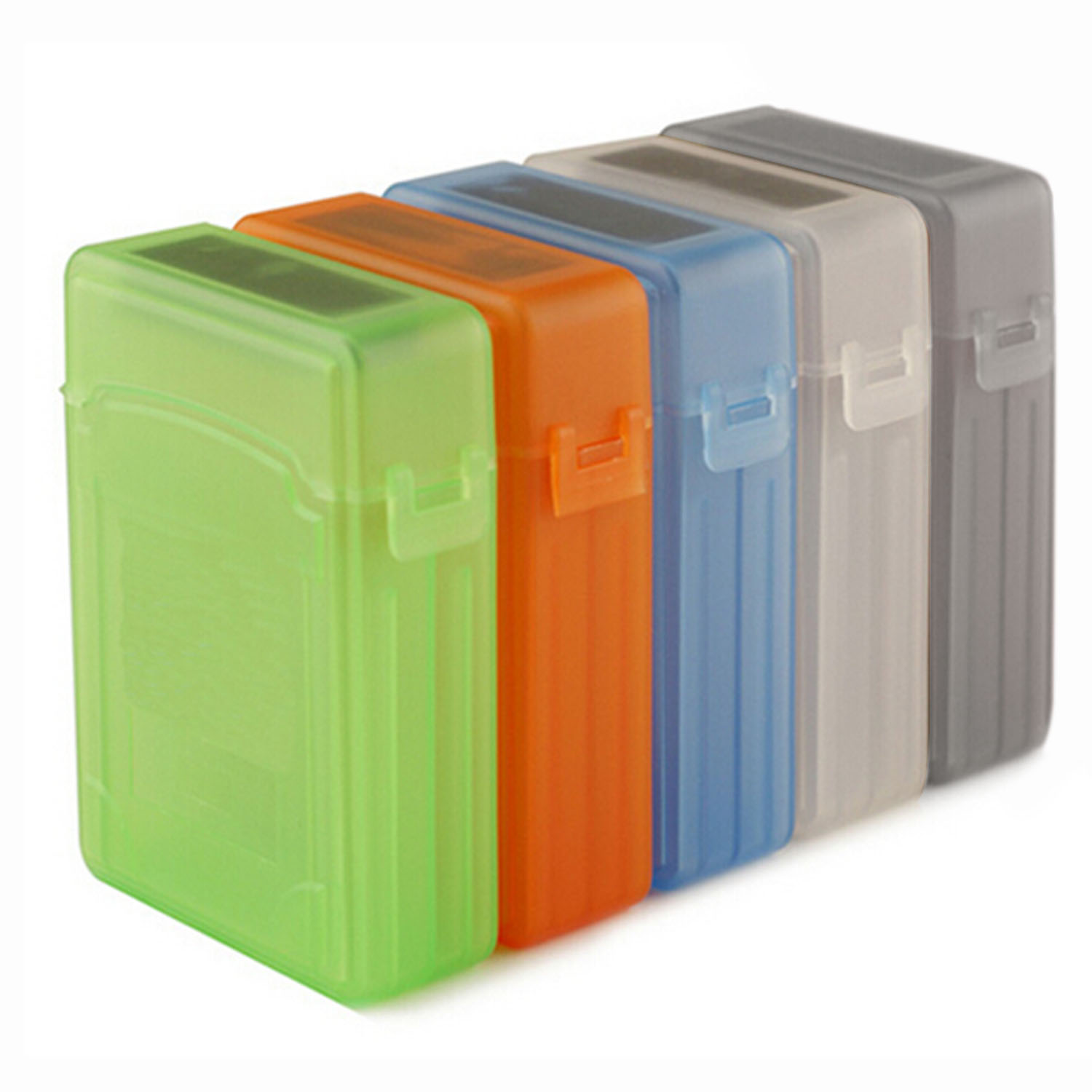 2.5 inch IDE SATA HDD caddy Case external Hard Drive Disk Storage Box For ssd Hdd enclosure Cases Shock optibay Multi Color(China (Mainland))