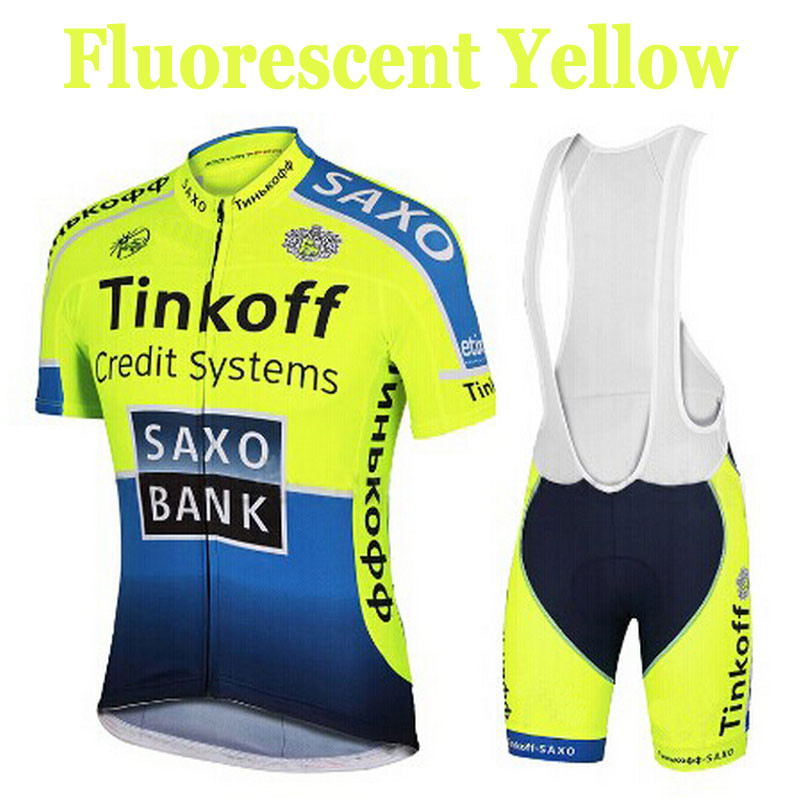 2016 Fluorescence Team Cycling Jerseys/Quick-Dry Cycling Jerseys GEL Pad Bike /Racing MTB Bicycle Clothing#9(China (Mainland))