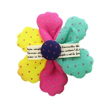 Fashion Children's Jewelry Korean Version Colorful Flower Duckbill Hair Clip Drop Shipping YBB-0458