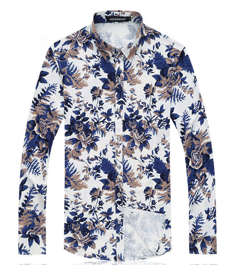 Discover the range of men's printed shirts with ASOS. Shop from hundreds of different styles, from men's chequered shirts to casual shirts. Shop at ASOS. River Island regular fit velvet shirt with floral print in green. $ SikSilk long sleeve shirt in white with rose panel. $ River Island regular fit shirt with snakeprint in gray.