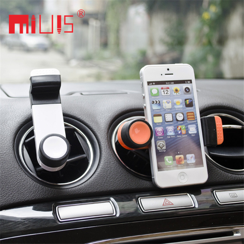 Гаджет  Universal Car Phone Holder Ventilation Air Vent Mount For Iphone 6 Plus Stand Support For Samsung S6 edge/S5 GPS Movil Suporte None Автомобили и Мотоциклы