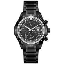 SMAEL hommes montre de luxe hommes d'affaires Sport montres hommes Top marque étanche or acier SL-9062 Quartz horloge hommes Relogio Masculino(China)
