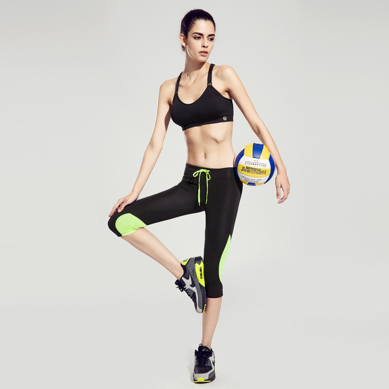2016 Women High Quality Leggings High Waist Pants Lady's Fitness Workout Sport Gym Running Training Female Trousers Y81(China (Mainland))