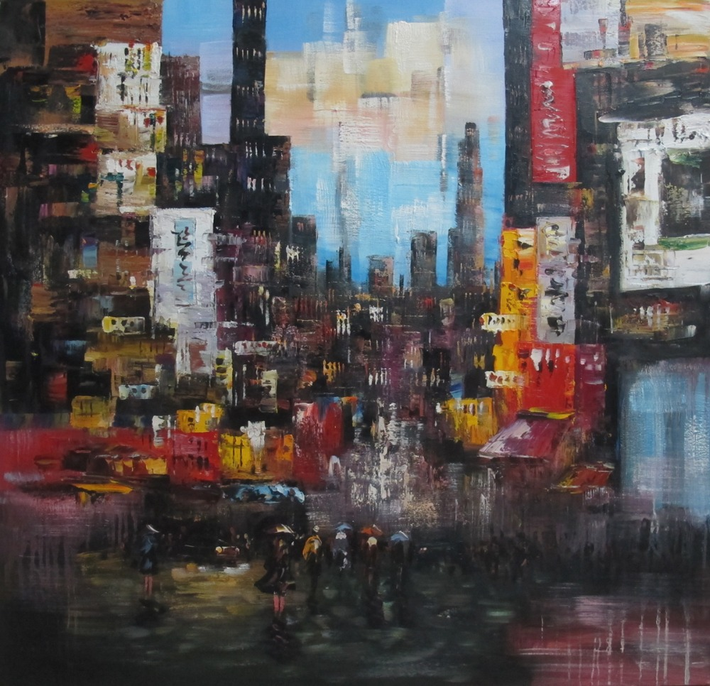 Buy hand painted impression oil painting for Art and craft stores nyc