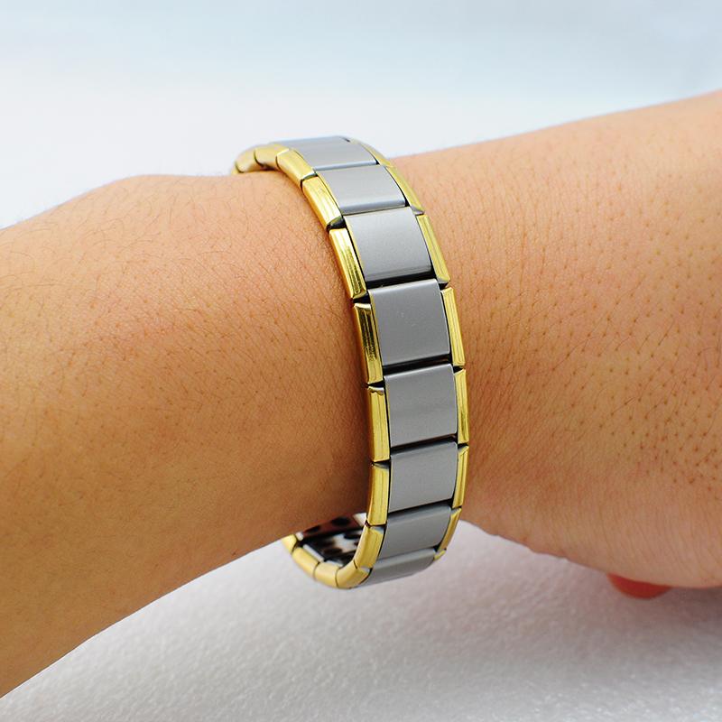 bracelet titanium 80 germanium nano nergie magn tique. Black Bedroom Furniture Sets. Home Design Ideas