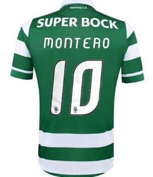 <b>...</b> Sporting Lisbon shirts 2016 <b>Sporting Clube</b> de Portugal francisco r. - Sporting-Lisbon-shirts-2016-Sporting-Clube-de-Portugal-francisco-r-Teo-montero-slimani-home-from-soccer