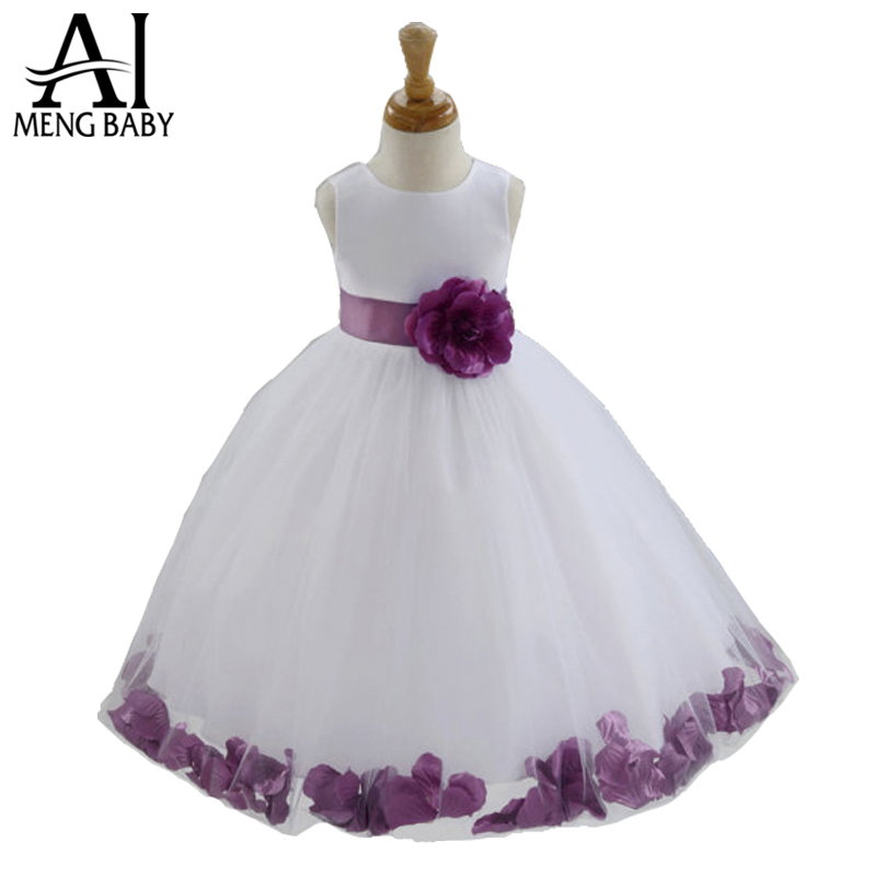 2015 Summer dresses Girls flower girl Dress Kids Clothing Children's Wear NOVA Fashion Toddler Princess baby - Angel Baby Wardrobe store