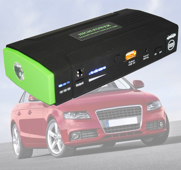 Фотография Multi-Function Mini Portable Car Jump Starter 30000mAh Start 12V Car Engine Emergency Battery Power Bank Fast Charge