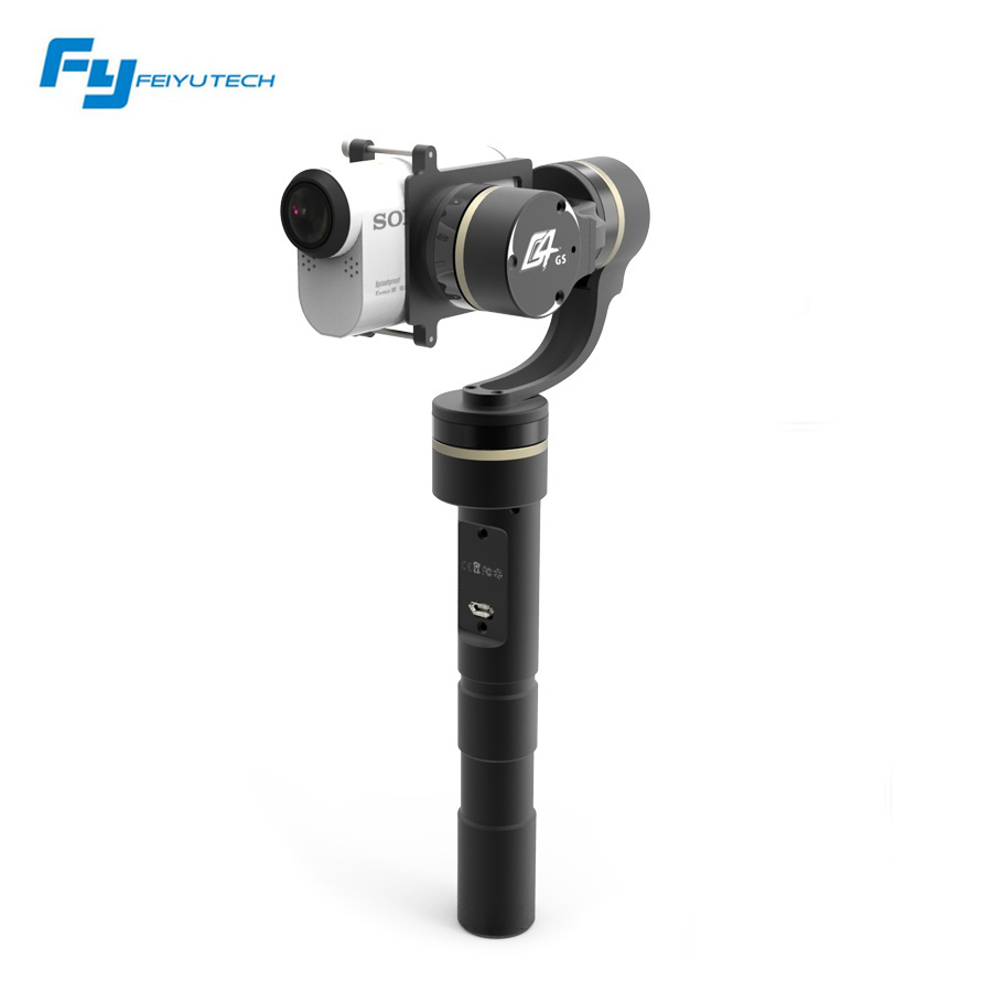 Feiyu New Version FY-G4 GS for Sony AS Series Camera 3 Axis Brushless Gimbal Handheld Gimbal for Sony Camera<br><br>Aliexpress