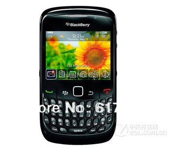 Hot Sale Original unlocked BlackBerry Curve 8520 smart cellphone, GPS WiFi, QWERTY,Refurbished free shipping