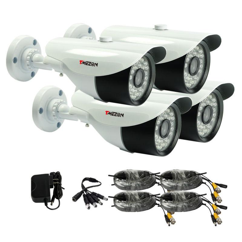 система видеонаблюдения на 4 камеры цена