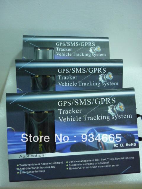 5 шт. автомобиль автомобиль GPS трекер TK103A в режиме реального времени отслеживать Google Map ссылка