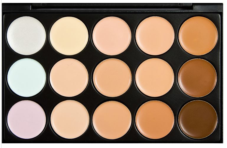 2 style to choose 15 colors Special Professional 15 Color Concealer s Facial Face Cream Care Camouflage Makeup Palettes Cosmetic(China (Mainland))