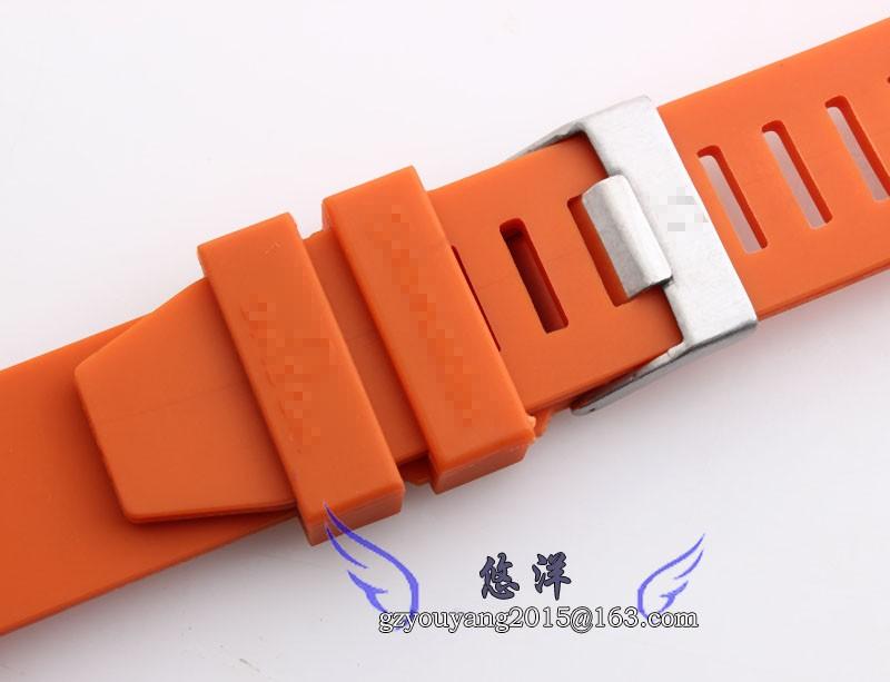 20 мм 22 мм новых людей черный дайвер резиновый ремешок для часов ремешок браслеты