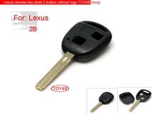 FREE SHIPPING 5pcs/lot 2 Buttons Remote Key Shell (Without the Paper Words) for Lexus(China (Mainland))