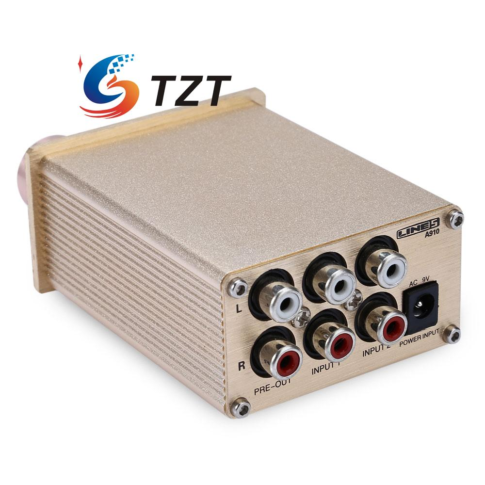 Computer HIFI Amplifier Stereo Audio Headphone AMP 140mW Output with Power Supply A910