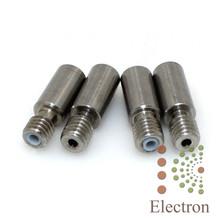 2pcs 3D printer metal mixing head double color extruder pipe throat teflon tube for E3D 1.75mm filament(China (Mainland))