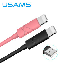 Buy USAMS 1m 2A Fast Charging 8 Pin USB Data Sync Charger Charging Cable Cord iPad iPod iPhone 5 5S SE 7 6 6S Plus iOS 10 9 for $1.99 in AliExpress store