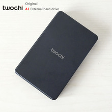 Free shipping New Styles TWOCHI A1 Original 2 5 External Hard Drive 80GB Portable HDD Storage
