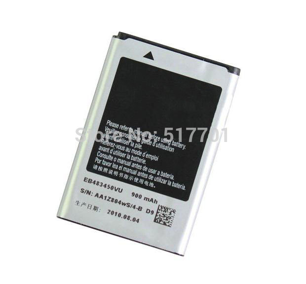 Free shipping high quality mobile phone battery EB483450VU for Samsung C3630 C3630C C3230 C3752 S5350 with good quality