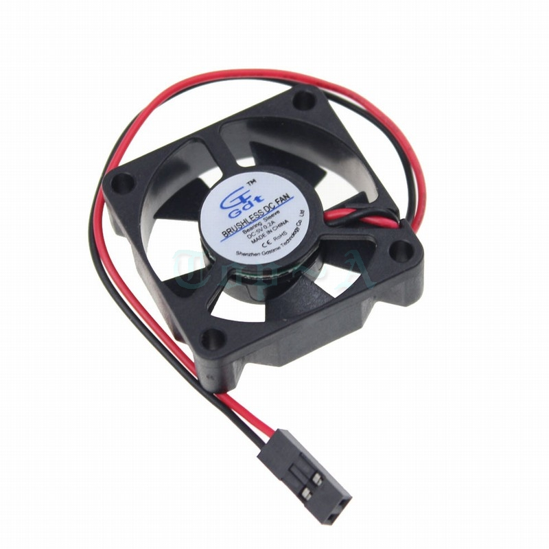 2pcs/lot Mini 35mm Fan 35mm X 35mm X 10mm DC 5V Dupont 2Pin For Computer PC  VGA Video Heat Sink Cooler Cooling