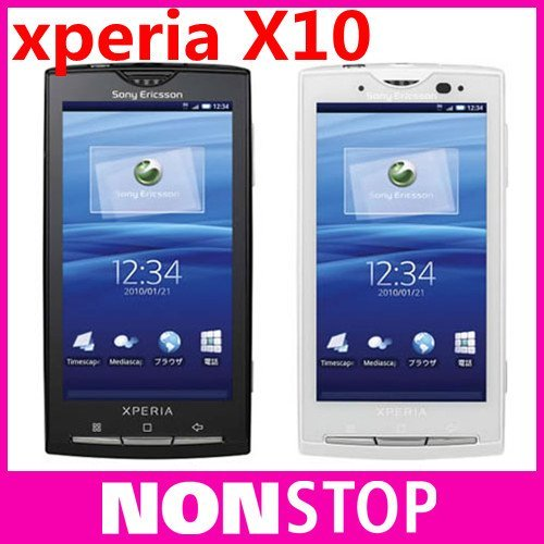 X10i Original Sony Ericsson Xperia X10 Android OS 3G Wifi GPS Bluetooth Mobile Phone