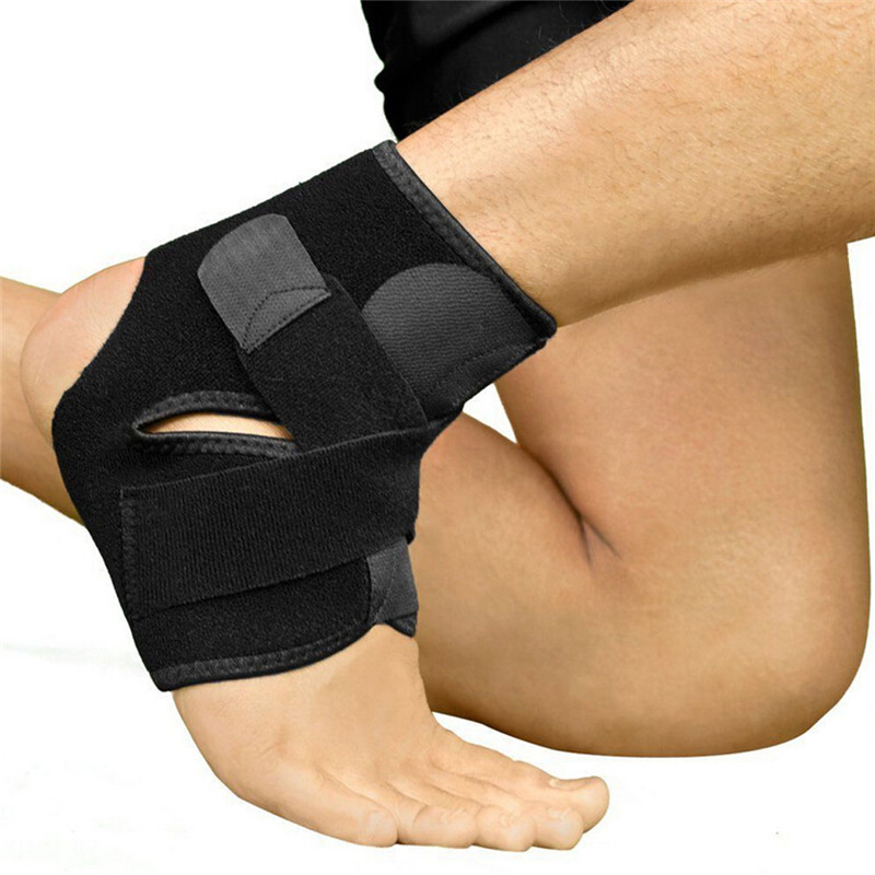 how to bandage an ankle for support