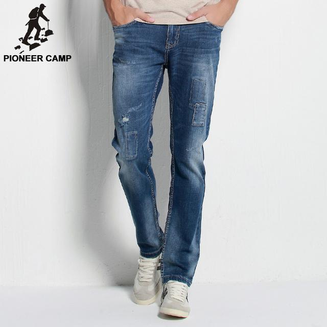 Пионерский Лагерь. Бесплатная доставка! 2016 осень новое прибытие мужские джинсы ...