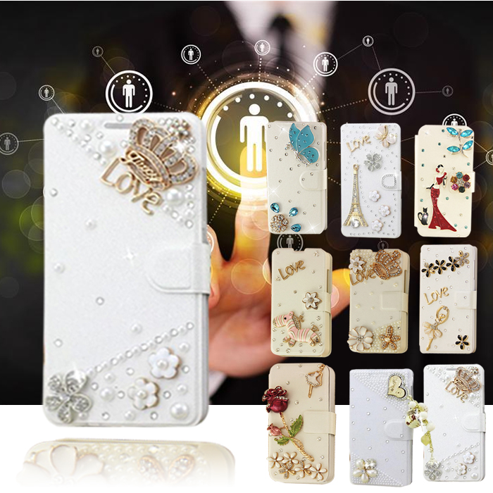 Hot Sale! White color For LG P725 Optimus 3D MAX mobile phone bags case shell drill phone cover protective sleeve(China (Mainland))