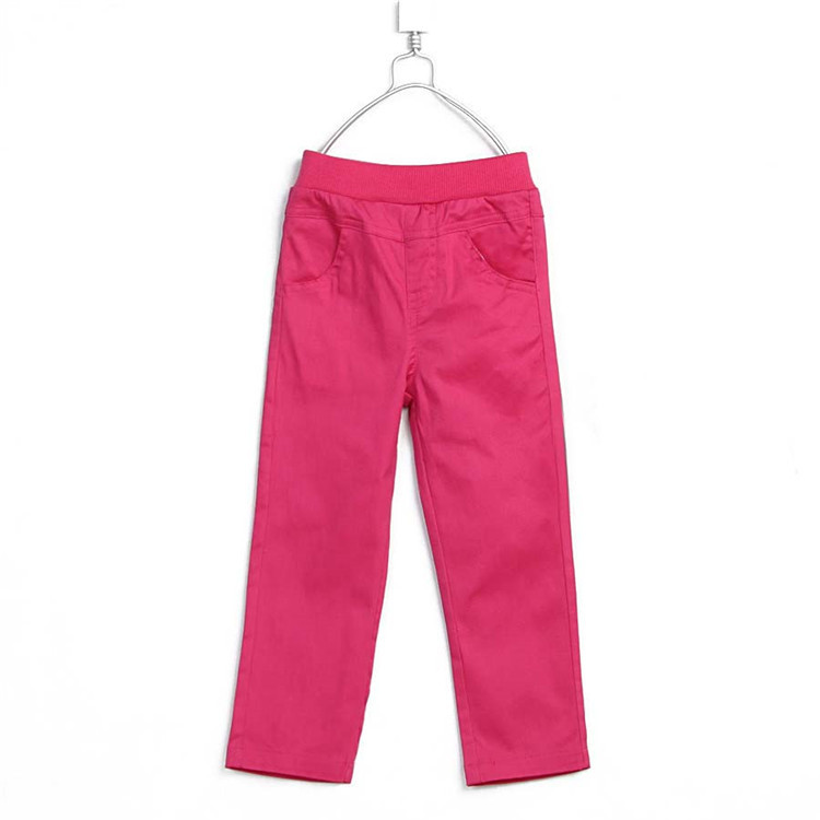 2015 spring & autumn all-purpose style baby girls skinny long trousers little girls solid color pants girls leggings A2073(China (Mainland))