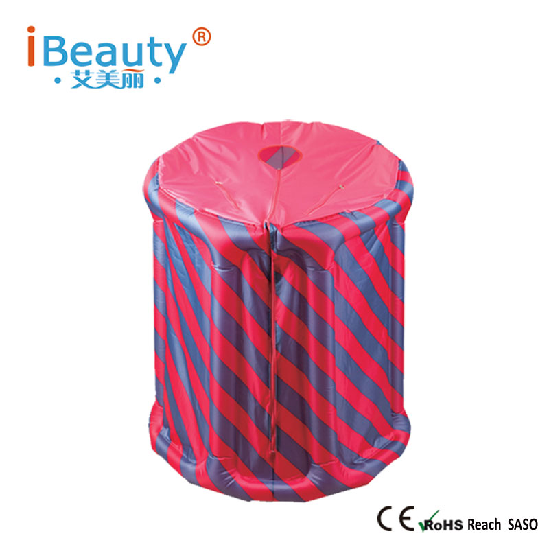 Portable steam sauna tent Inflatable tent Calories Burned keep skin healthy iBeauty Free shipping(China (Mainland))