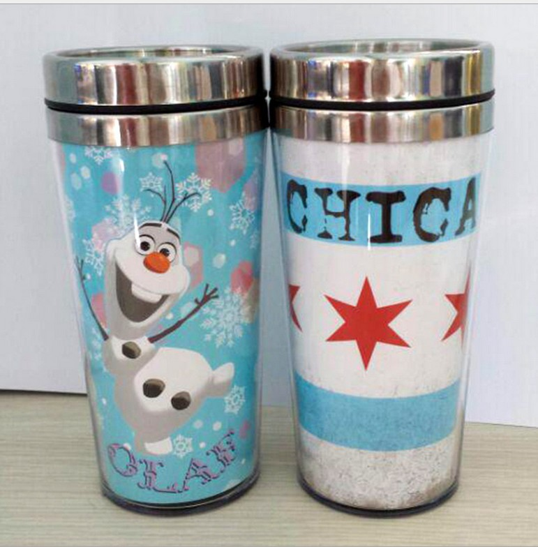 Leak Proof Removable Paper Insert Tumbler Thermal Travel