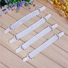 4Pcs Bed Sheet Mattress Blankets Elastic Holder Fastener Gripper Clip Sales Home Decoration OM(China (Mainland))