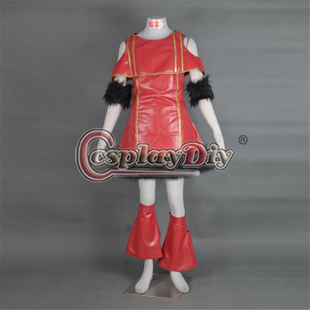 jojo's bizarre adventure hot red dress cosplay costume adult