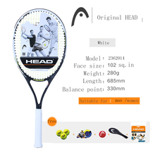 NEW HEAD tennis racket high quality Carbon Aluminum Alloy tennis racket tenis Racket / Racquet Grip: 4 1/2 Big-hand Man(China (Mainland))