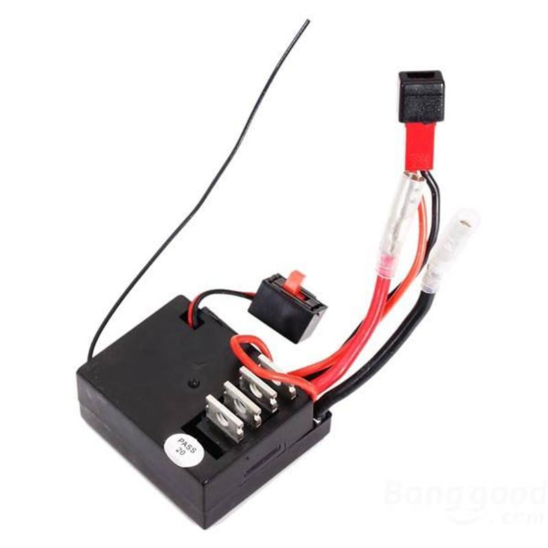 Wltoys A949 A959 A969 A979 K929 1/18 4WD RC Car Receiver/ECS Spare Part A949-56 Wltoys RC Car Part Replacements Accessories
