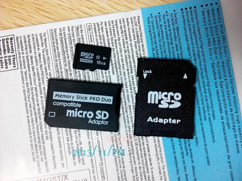 Гаджет  Newest Memory Stick Pro Duo Card Adapter+SD card adapter+cartoonbox+ 64 GB Micro SD card Transflash TF CARD USB 2.0 memory card None Компьютер & сеть