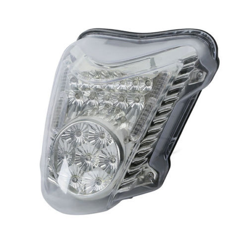 LED Transparent Motorcycle Tail light Brake integrated Turn Signals Fits For SUZUKI HAYABUSA GSXR1300 ,2008-2015 /free shipping(China (Mainland))