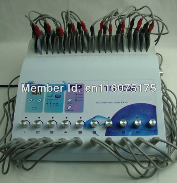 portable Electric muscle stimulatior, electro stimulation ...