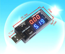 Newest USB Charger Doctor Current Voltage Charging Detector battery Voltmeter Amp High Quality