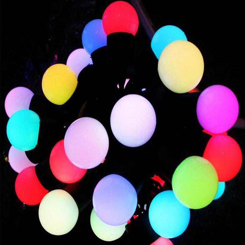 2015 Hot outdoor christmas tree decoration led light string 5M 50 leds 10M 100leds lights free shipping(China (Mainland))