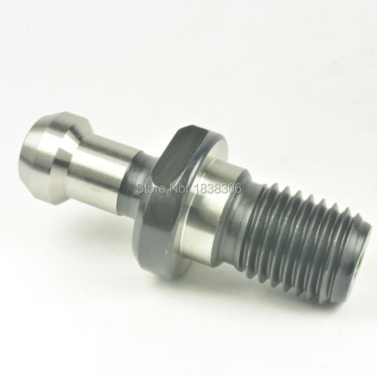 Free shipping 1pcs BT50 -45Degree M24 Thread Carbon pull stud retention knob for CNC milling toolholder(Hong Kong)