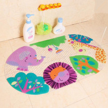hot selling Bath mats cartoon shell bathroom suction cup for baby and child mats bathtub mat lovely animal toilet mats 39*69cm(China (Mainland))