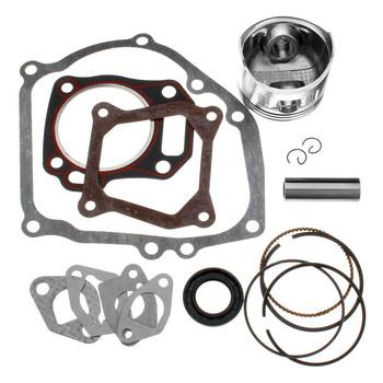 Rebuild Kit With Piston Ring and Engine Gasket Kit For Honda GX160 GX200 5.5 6.5HP
