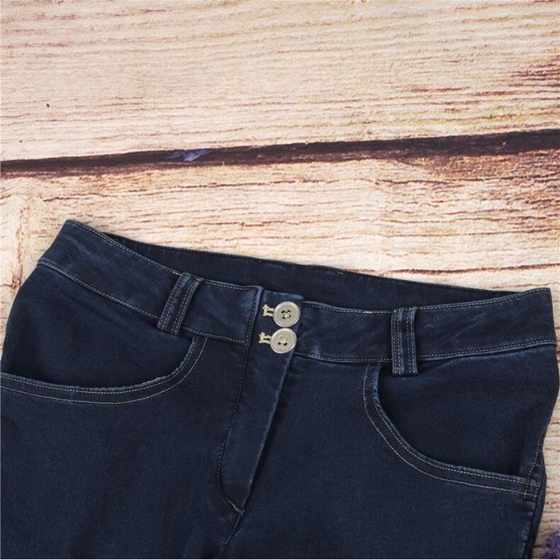 Скидки на 2016 Новый стиль джинсы женщина Осень Тонкий стрейч джинсы идеально арфы Тонкий джинсы ноги