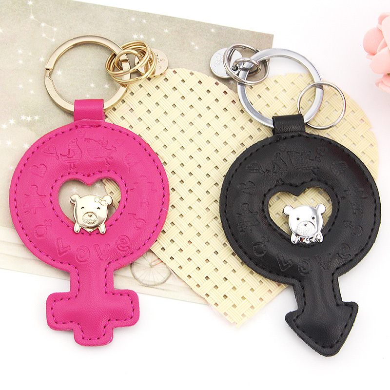 milesi brand couples keychain car for lover key ring Bag Pendant cute bear orginal design Gift k0147(China (Mainland))