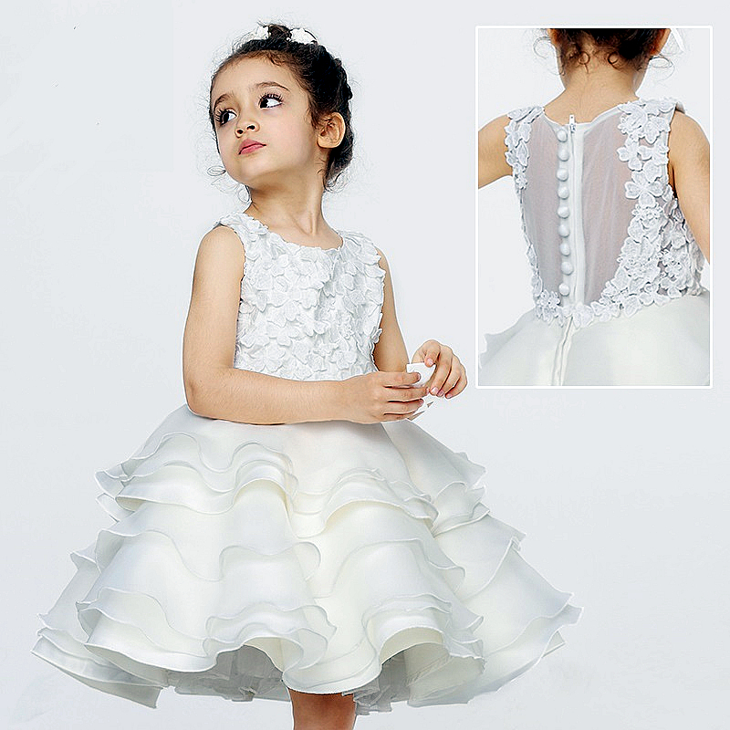 Kids wedding dress hollow ventilating paris classic design for Dresses for teenagers for weddings