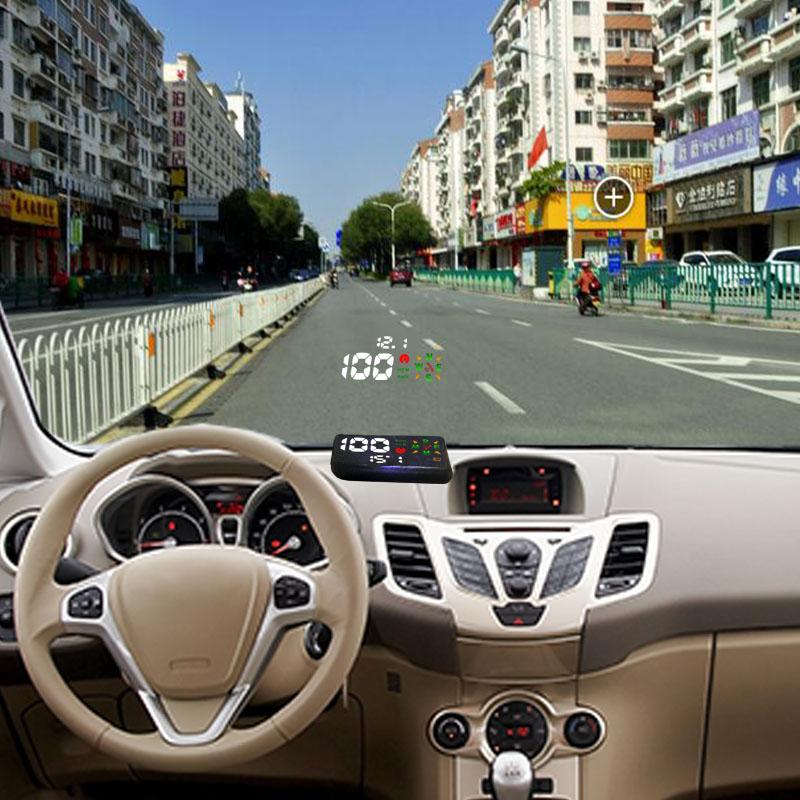 ATUOOL X200 Universal Car HUD GPS Speedometer Head UP Display Digital Car Speedometer Overspeed Alarm Windshield Project(China (Mainland))